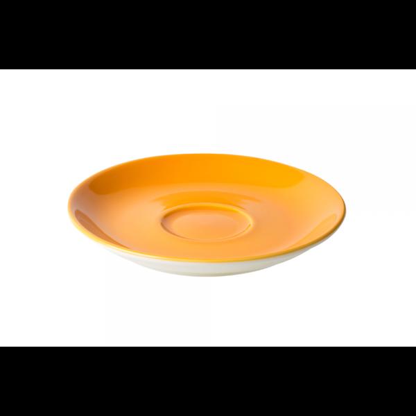 Cappuccinoschotel - 15,5 cm - Maastricht Porselein - Oker